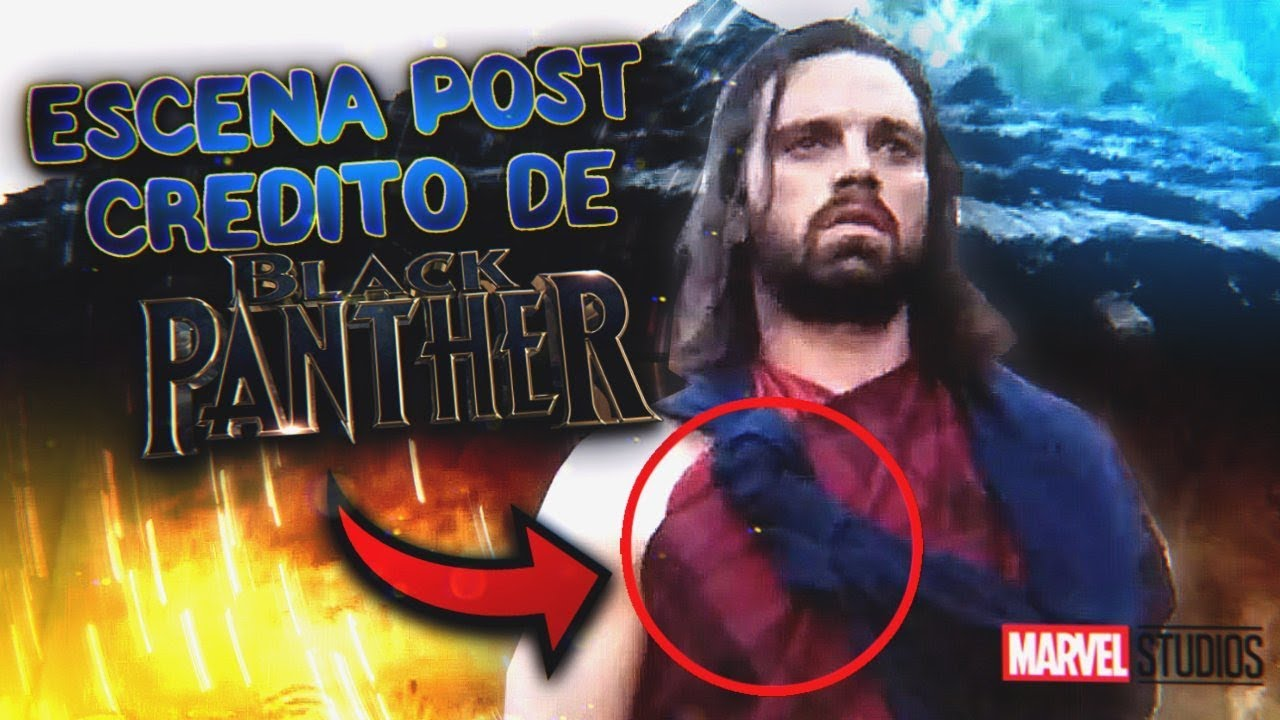 Bucky En Black Panther Escena Post Créditos De Black Panther Youtube