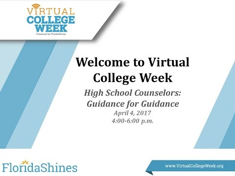 High School Counselors: Guidance for Guidance