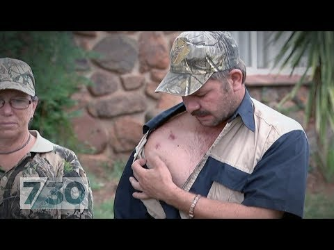 White South African farmers say they're living in fear