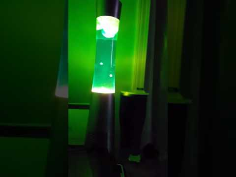 The sharper image Bluetooth speaker lava lamp - YouTube