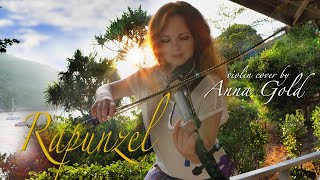 I See The Light - Tangled (Rapunzel) Violin Cover by Anna Gold