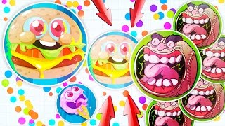 """Agar.io TROLLING """"EAT MY HALF"""" ( Agario Awesome Moments & Funny Montage )"""