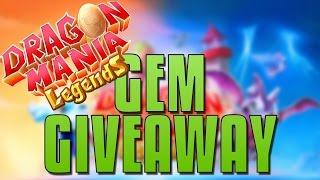 Dragon Mania Legends Gem Giveaway[Closed]