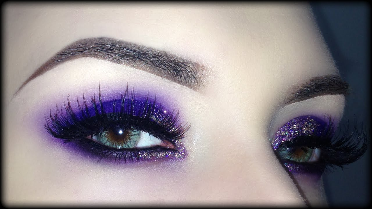 Amato Sexy Purple Valentine's Day Smoky Eyes - Makeup Tutorial (Trucco  OM88
