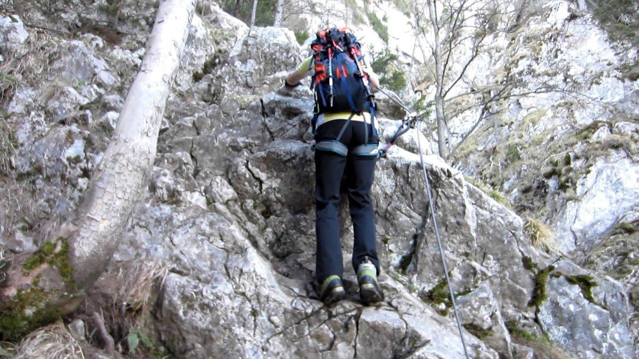 Klettersteig Hochlantsch : Hochlantsch franz scheikl klettersteig einstieg youtube