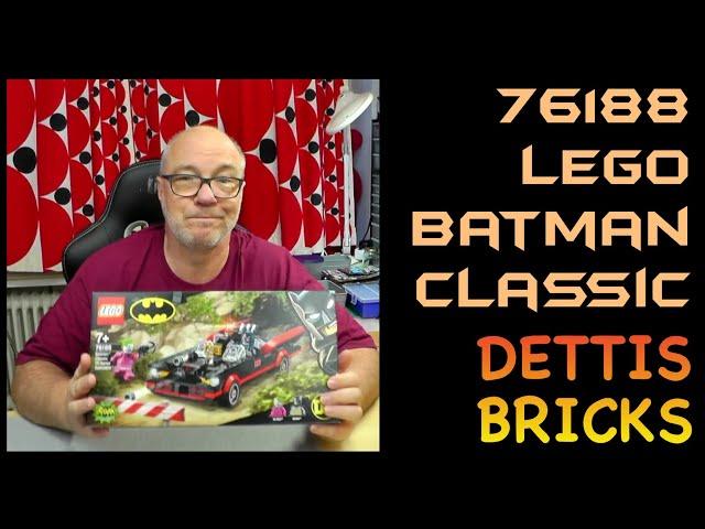 Die Ordnung wird wieder hergestellt – 76188 Lego Batman Classic
