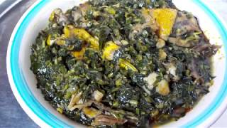 HOW TO PREPARE EDIKANG IKONG SOUP AT HOME... FOR THE FAMILY
