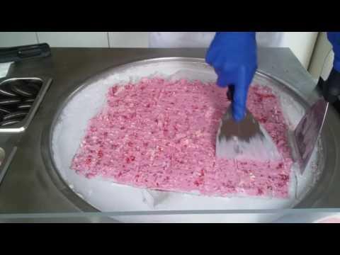 Ice cream rolls - Tajskie lody - Władysławowo