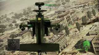 Ace Combat Assault Horizon Helicopter Mission 1