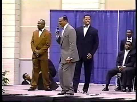 Min. Farrakhan; Let us make man, Memphis Tenn.