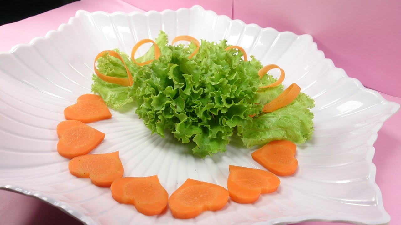 Simple Ideas For Salad Decoration With Carrot – Art ...