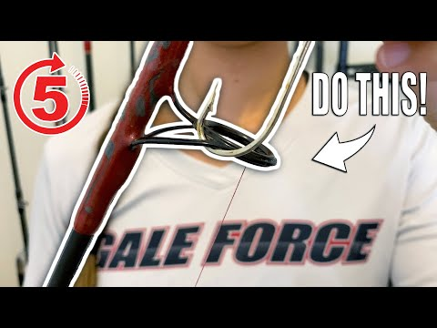 HOW TO STORE FISHING ROD AND REEL FOR EVERYDAY USE | Gale Force Twins