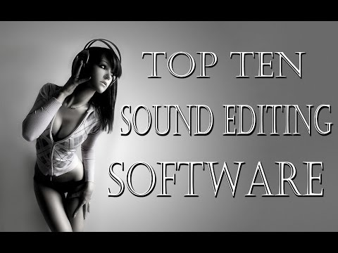Top 10 Sound Editing Software