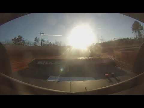 East Lincoln Speedway 3-22-19 Pro 4 Heat Race Alexus Motes (REAR CAM)