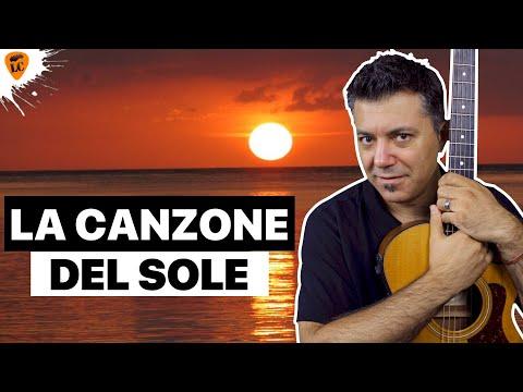 Canzoni Facili Chitarra: La Canzone Del Sole - Serie Trucco Dei 3 Accordi
