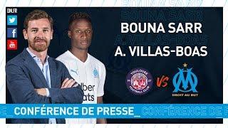 VIDEO: TFC - OM La conférence de Bouna Sarr & d'André Villas-Boas