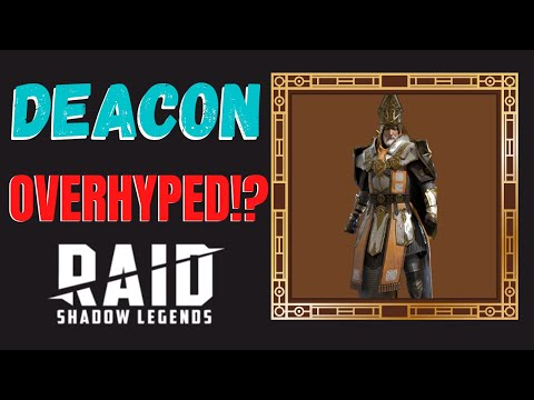 Deacon Armstrong OVERHYPED!?!?!?!? | Champion Guide | Raid Shadow Legends