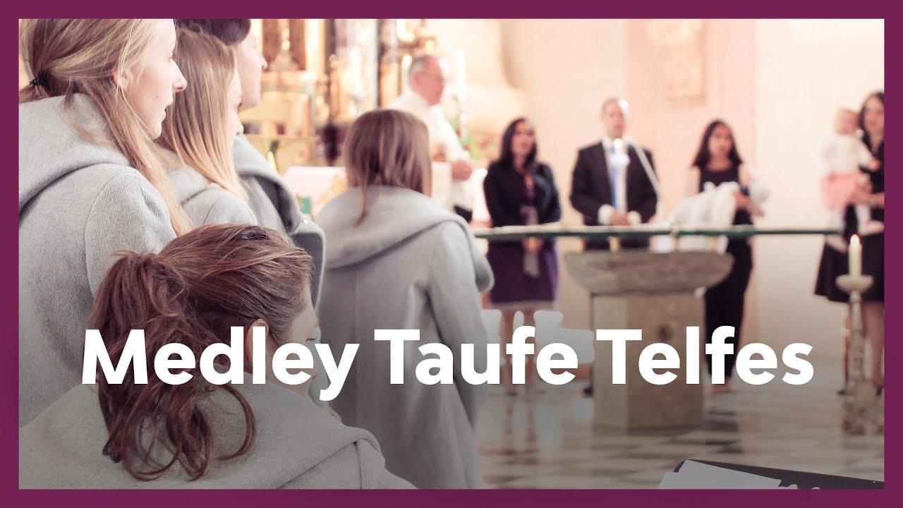 Medley Taufe Telfes Stubai I Live Cover Just Sing Chor