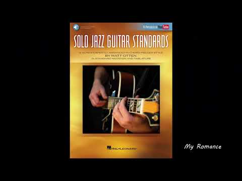 Talking about the book Solo Jazz Guitar Standards