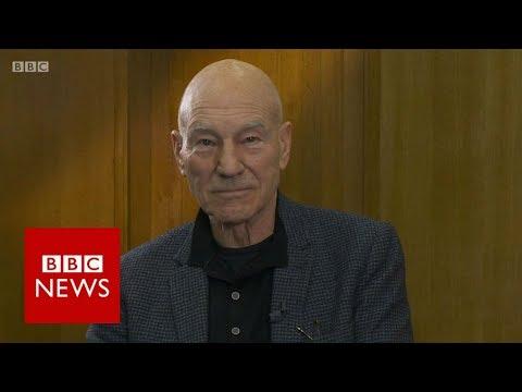 Sir Patrick Stewart on Brexit deal vote campaign - BBC News