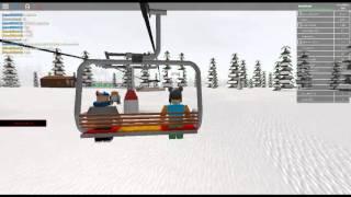 Roblox Ski resort! |Password For admin board!|
