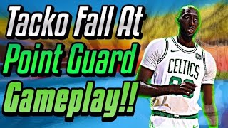 100 Point Guard Tacko Fall Gameplay! NBA Live Mobile!