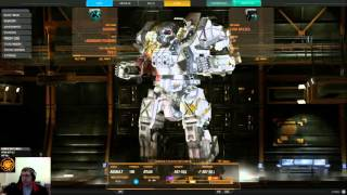 Mechwarrior Online Atlas AS7-S Brawling Gameplay Commentary