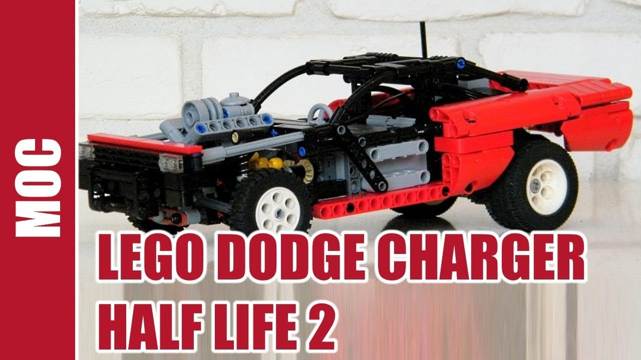 lego technic - dodge charger half life 2