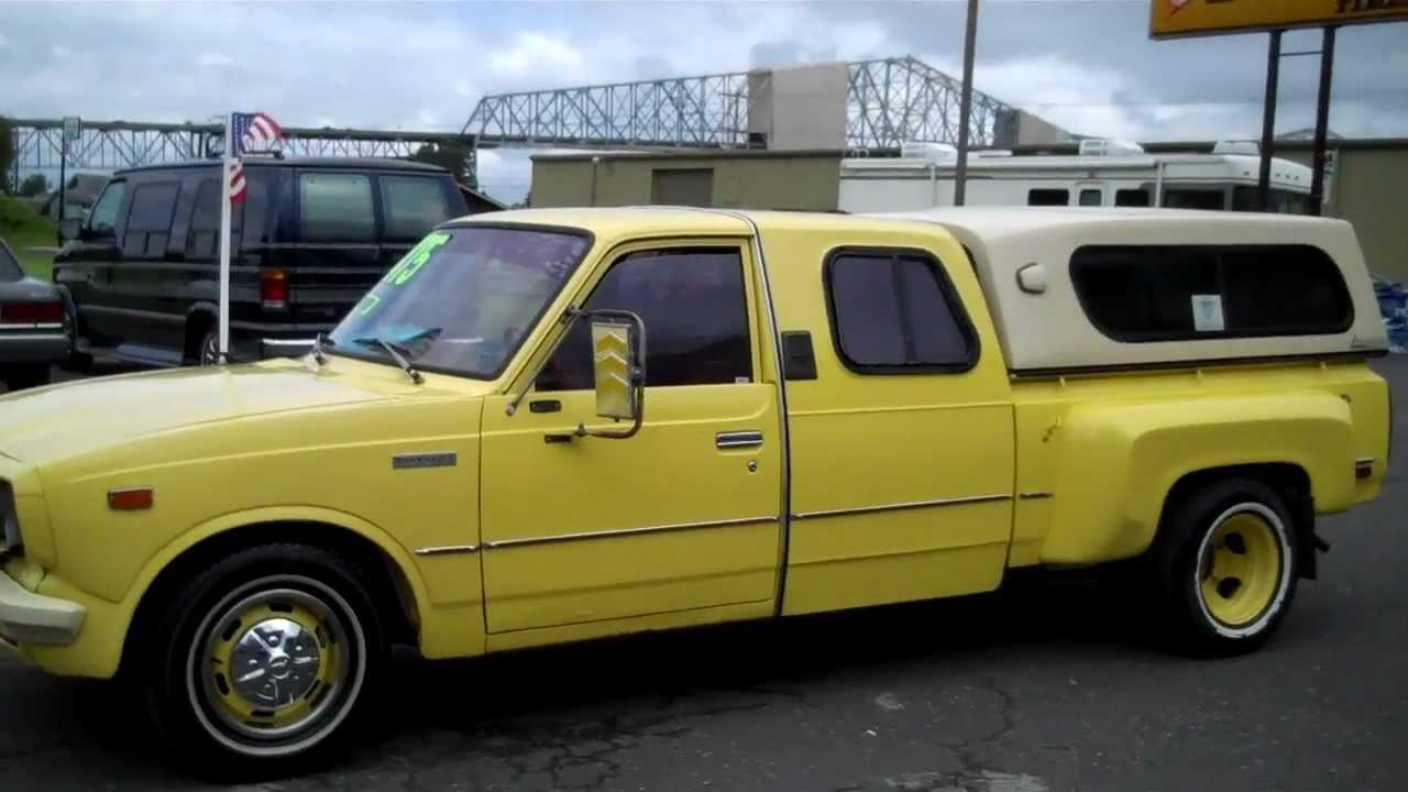 1978 toyota hilux custom dually crew cab sold   youtube