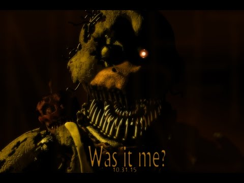 FNAF 4 NIGHTMARE CHICA! SCOTT GAMES UPDATED AGAIN! Five Nights at Freddy's 4
