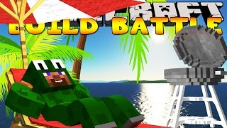 Minecraft - BUILD BATTLES - LETS GO ON HOLIDAYS!