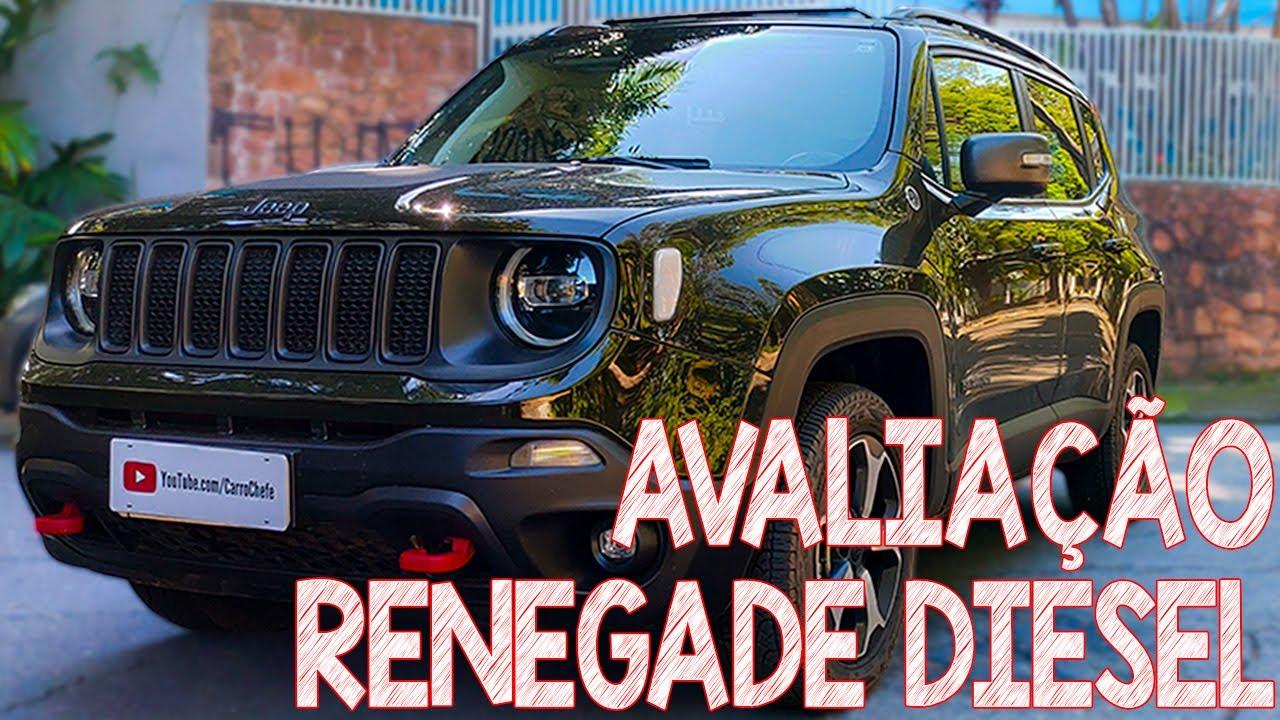Avaliação Jeep Renegade Diesel 4x4 Trailhawk - SUV de shopping ou SUV raiz? - Carro Chefe