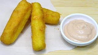 Puerto Rican Surullitos De Maiz Con Queso  Or Corn Fritters Stuffed With Cheese