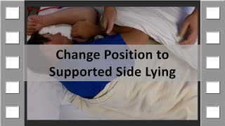 Change Position to Supported Side Lying CNA Skill NEW thumbnail
