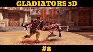 Гладиаторы 3 D - Размениваем жетоны на призы. #8