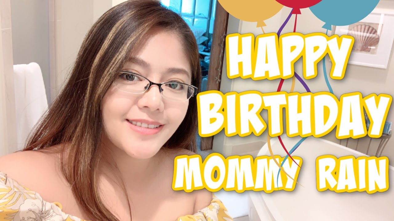 MOMMY RAIN'S BIRTHDAY | KAYCEE WONDERLAND