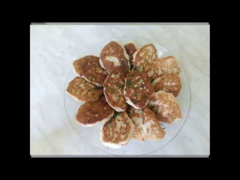 Оладьи из куриной грудки,быстро и вкусно/Pancakes with chicken breast, quick and tasty без регистрации и смс