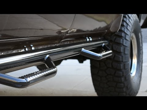 How To Install Truck Side Steps Nerf Bars Half Idiots