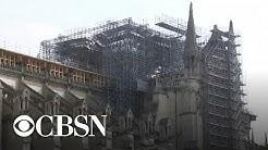 One year after devastating fire, coronavirus delays Notre Dame's restoration