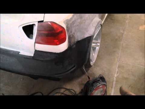 How To Use & Sand BodyFiller, Using EVERCOAT at BackStreet Customs