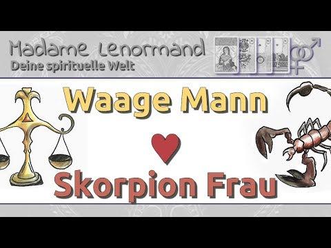 waage skorpion partnerschaft