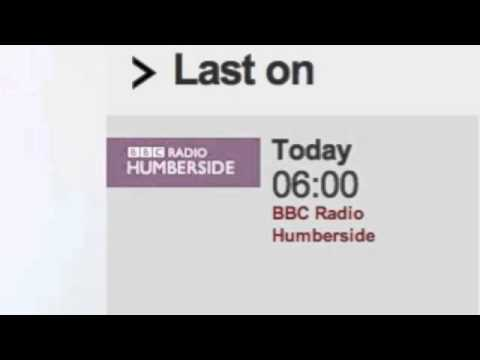 Ray Greek MD interviewed on BBC Radio Humberside, 28th Oct 2013