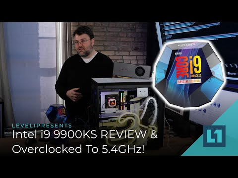 INTEL i9 9900KS Release! REVIEW & OVERCLOCK to 5.4 GHz!