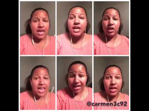 I open my mouth to the lord by Carmen T
