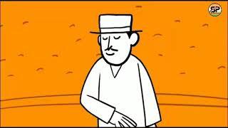Von 10 Bizeps cartoon -, Ed-2019, eine kontinuierliche, die neue BJP-cartoon-Serie ad