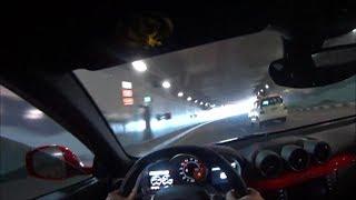 Ferrari FF POV Drive (Tunnel Sounds) in Dubai!!