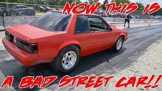 NOW THIS IS A MEAN TRUE STREET CAR!! SPRAYING IT TO SLEEP!!