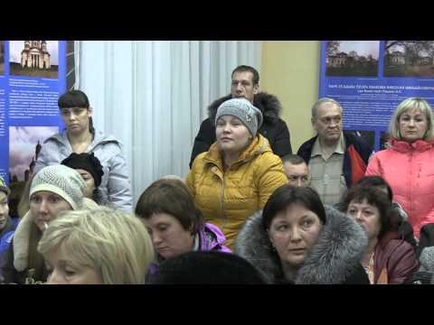 Встреча начальника транспортного отдела КЖКХ Владимира Митчихина с населением Образцовской площадки