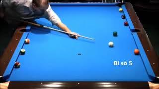 Quá đỉnh với kiểu đánh bida như này! Latin America's Billiards pool