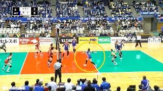 มายู อิชิกาวะ vs NEC เรด ร็อกเก็ตส์ Mayu Ishikawa vs NEC red rockets volleyball japan league 2019-20